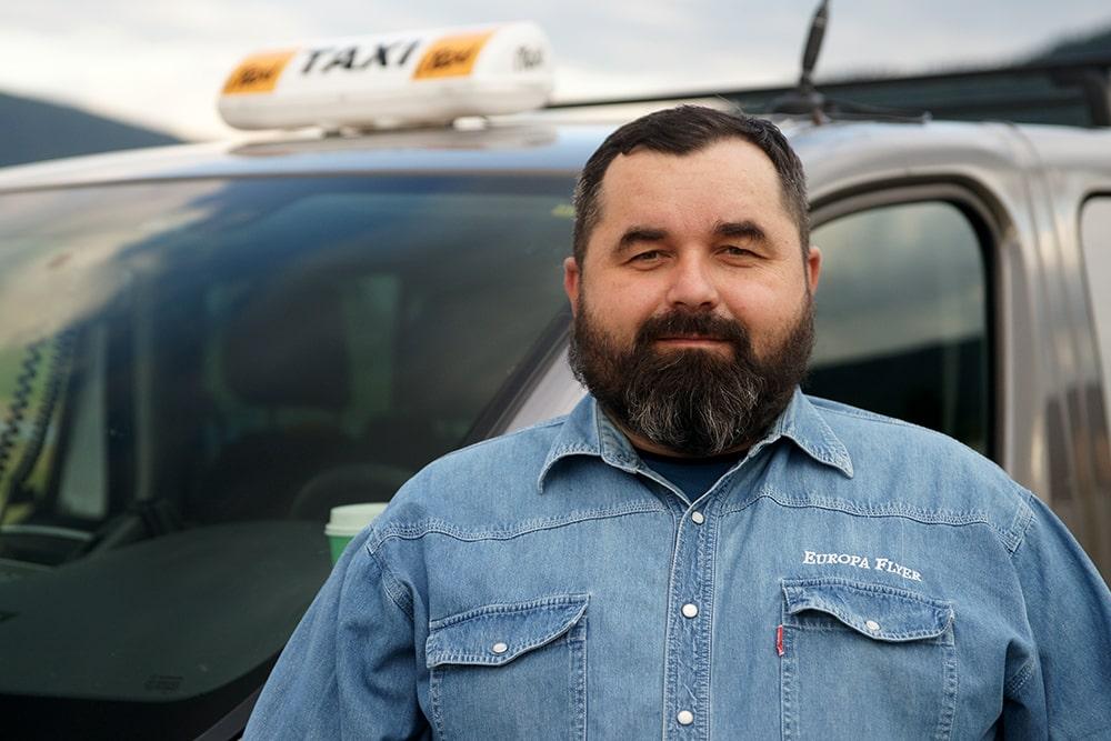 Taxi Krzysztof - Właściciel, taksówkarz