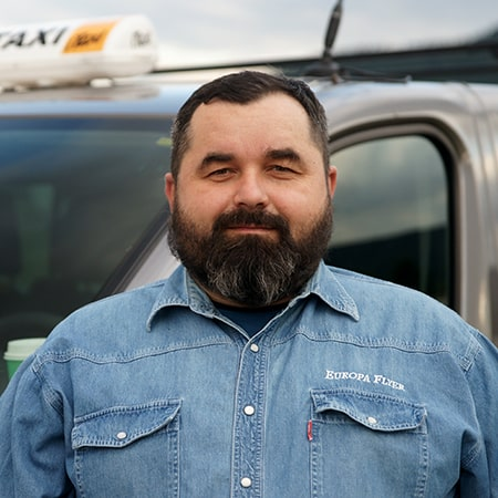 Krzysztof - właściciel, taksówkarz